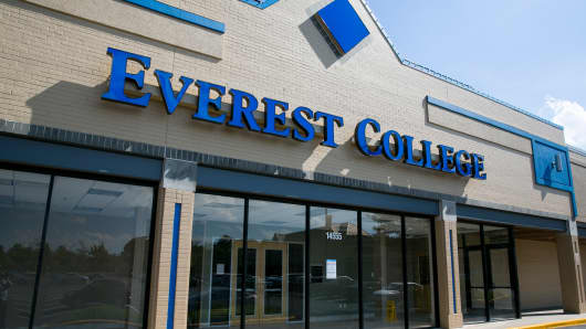 An Everest College location in Woodbridge, Virginia.