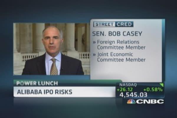 Alibaba IPO concerns