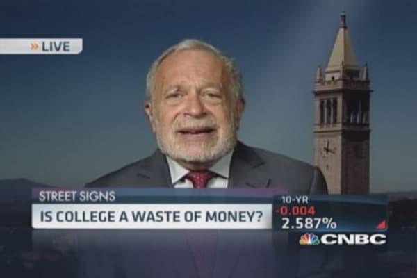 Is college a giant waste of money?