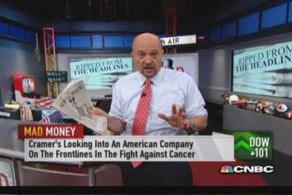 Why Cramer wants to buy AGIO