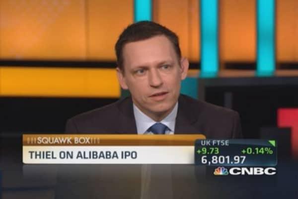 Thiel on Alibaba IPO