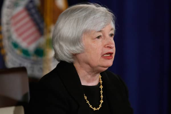 U.S. Federal Reserve Board chair Janet Yellen holds a news conference in Washington September 17, 2014.