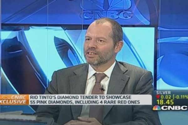What's shining at Rio Tinto's diamond tender