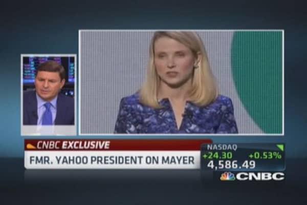Yahoo's worth without Alibaba