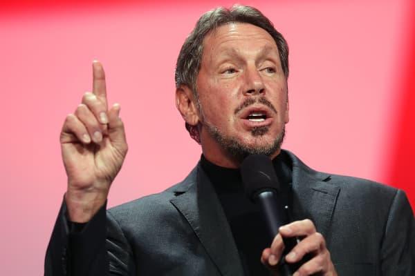 Oracle CEO Larry Ellison.