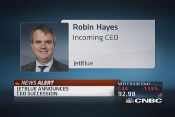 JetBlue's CEO succession
