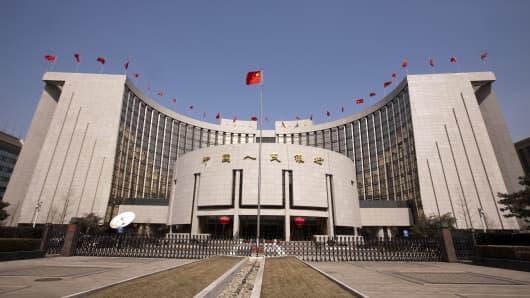 CHINA PBOC YUAN