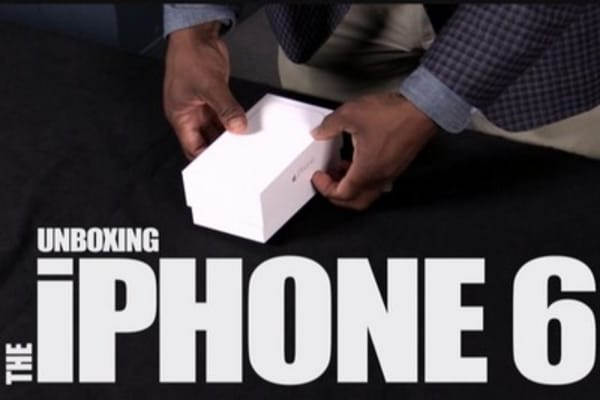 iPhone 6 unboxing: First impressions