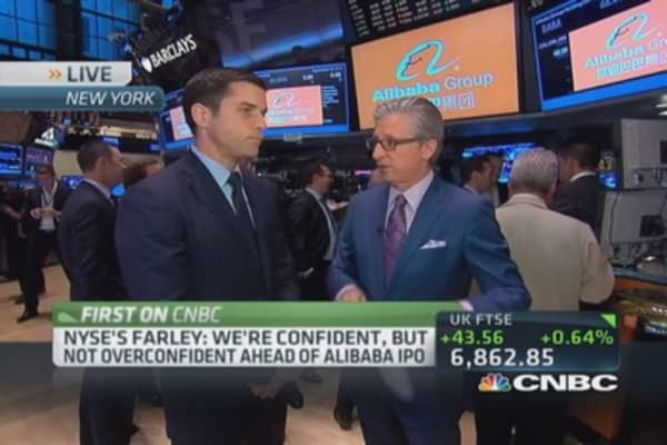 How NYSE clinched Alibaba deal