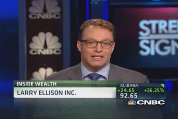 Larry Ellison's net worth: $46 billion
