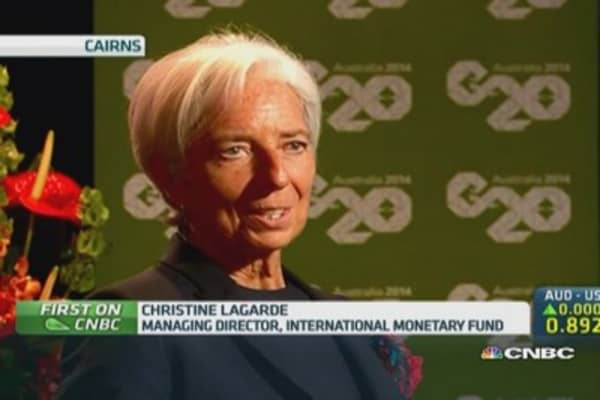 IMF's Lagarde: China can deliver 7.5% growth
