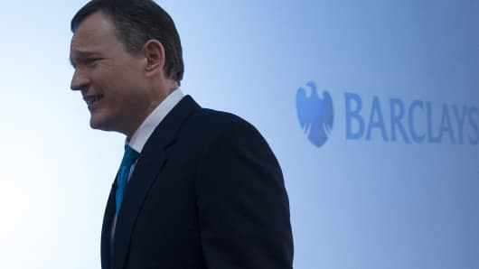 Anthony Jenkins, Group Chief Executive of Barclays Bank