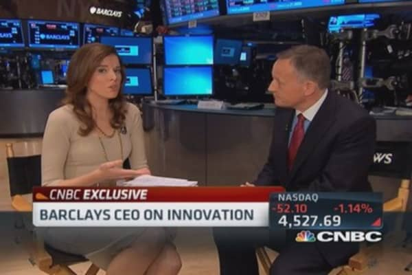 Barclays CEO: Focused on future