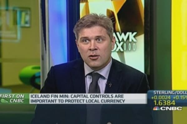 We don't need EU membership: Iceland Fin Min