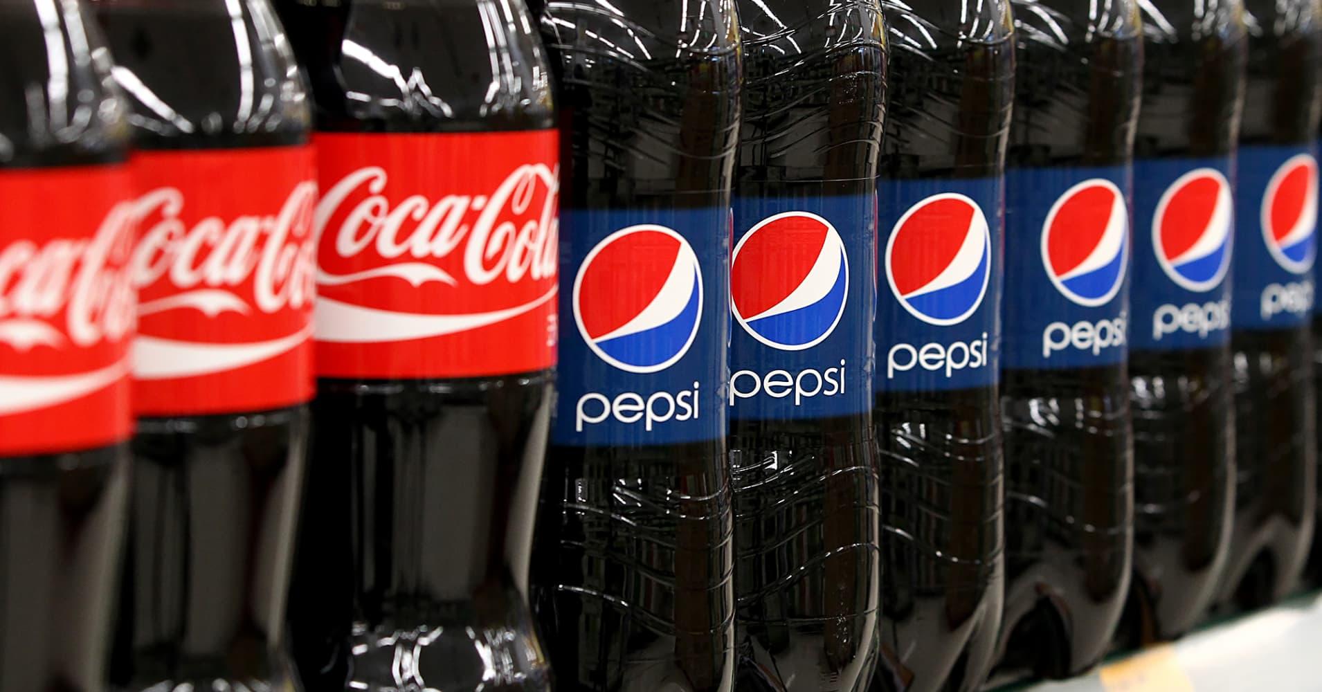Resultado de imagem para Pepsi e Coca-Cola