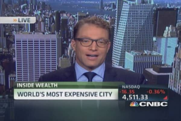 World's most expensive city