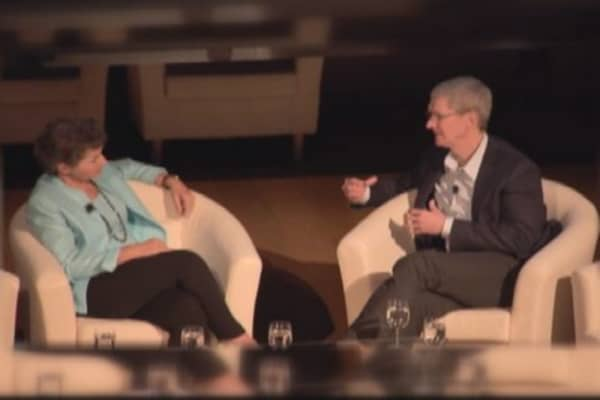 Apple's Tim Cook on climate change