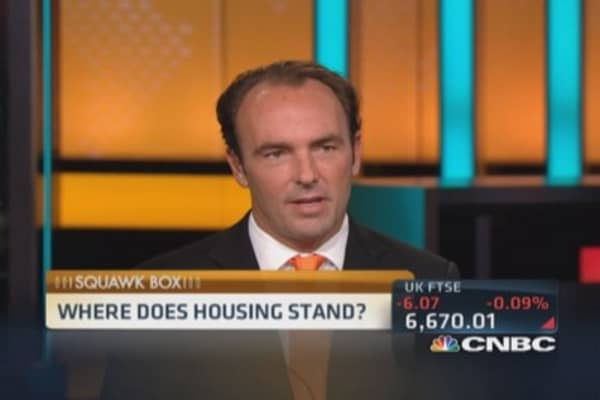 Housing rebounding nicely: Pro