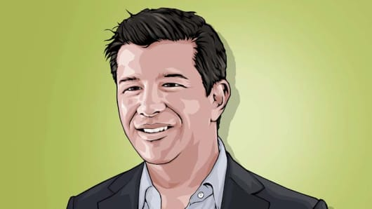 Travis Kalanick CNBC Next 25