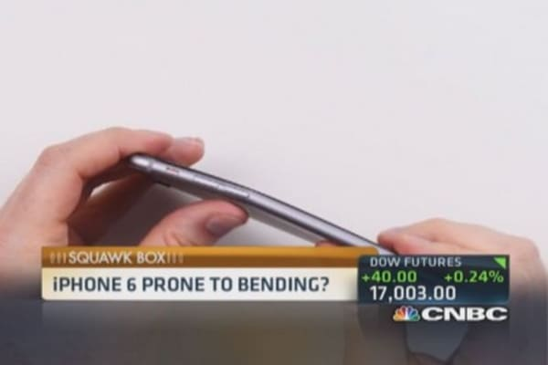 A bendable iPhone 6 plus?