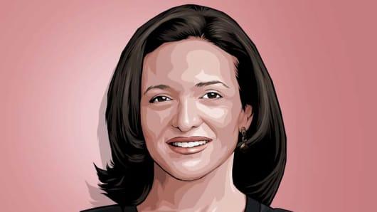 Sheryl Sandberg CNBC Next 25