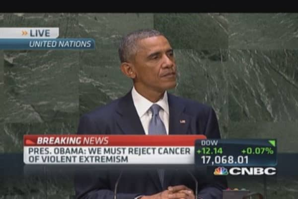 Time for world to reject ISIS: Obama