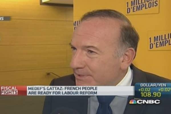 France's situation is 'urgent': MEDEF