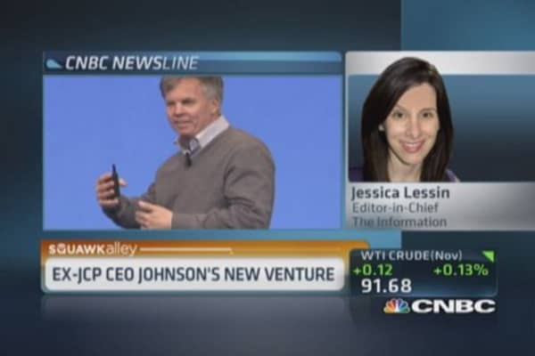 Ex-JCP CEO Ron Johnson's new bet