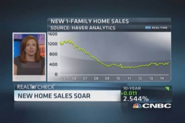 Close look at August new home sales