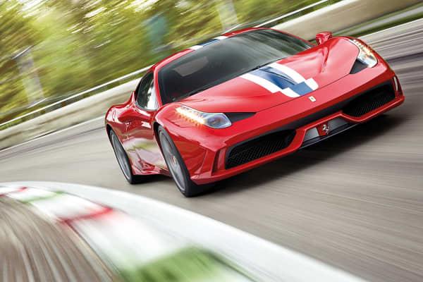 The Ferrari 458 Speciale.
