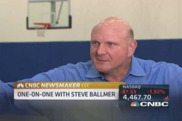 Steve Ballmer's LA Clippers vision