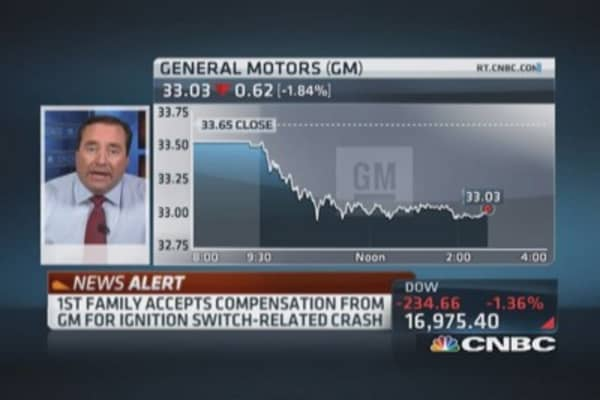 GM compensation: First settlement offer accepted