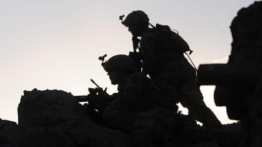 US soldiers special troops