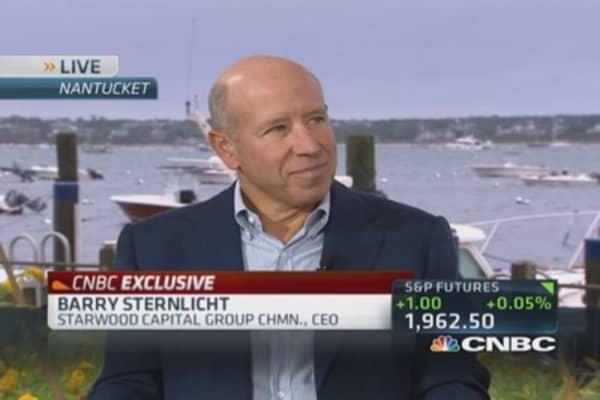Sternlicht: Healthy for market to shake