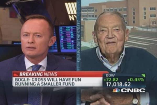 Be wary of long-term bonds: Jack Bogle