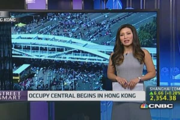 Chaos continue in Hong Kong as protests intensify