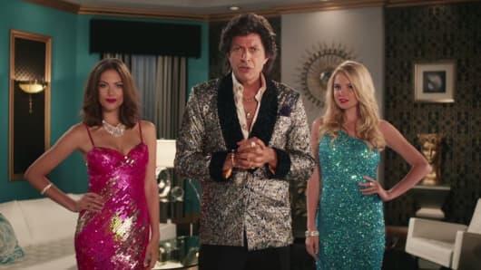 """Jeff Goldblum in a G.E. spot """"Enhance Your Lighting""""."""