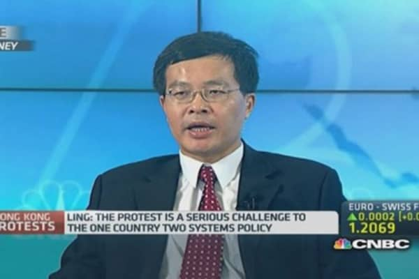 China won't back down on Hong Kong: Professor