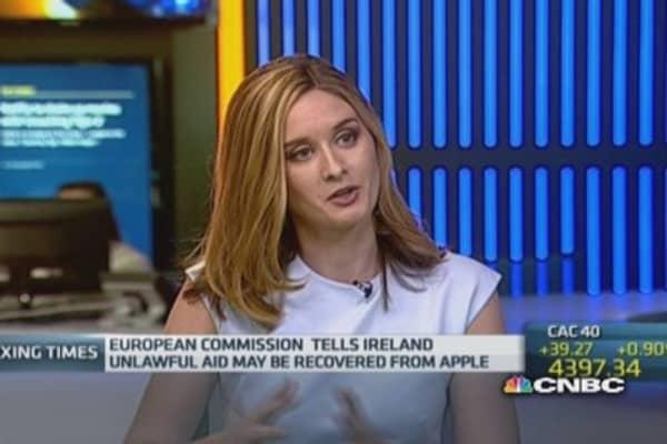 Apple's Irish tax deal in breach of EU law