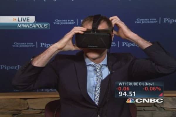 Oculus: Facebook's virtual reality