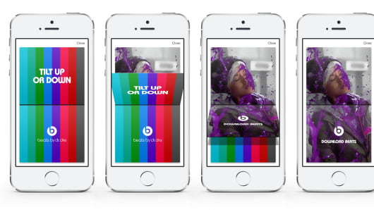Adtile uses smartphones to engage consumers through movement.