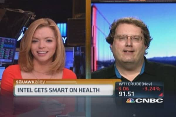 Intel's Mike Bell: Best fitness tracker on market