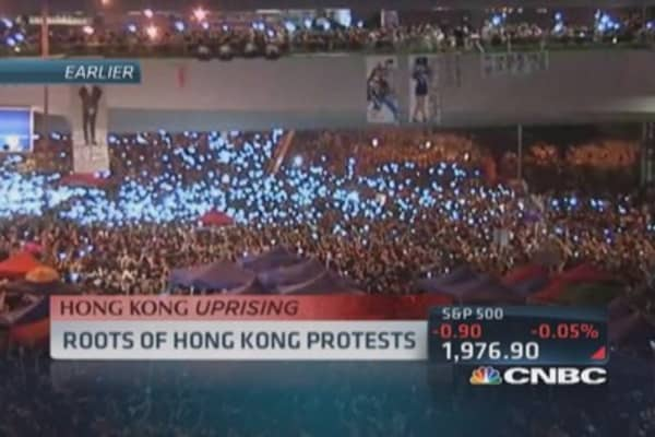 Roots of Hong Kong protests