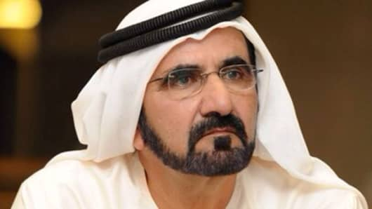 Mohammed bin Rashid Al Maktoum, VP and prime minister of the UAE, ruler of Dubai