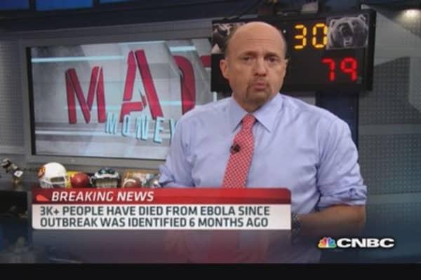 Cramer reflects on market peaks