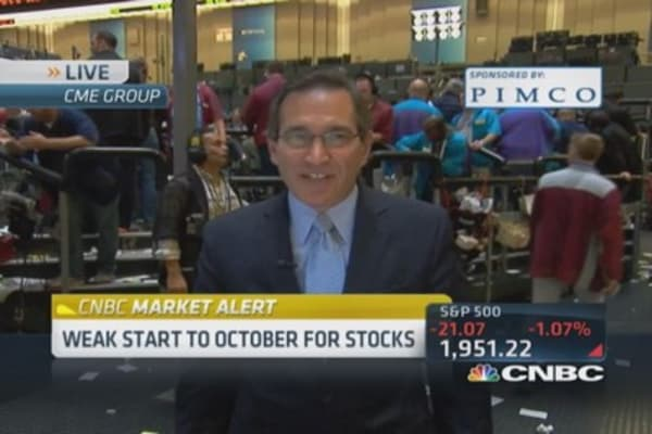 Santelli: Money wants out of equities
