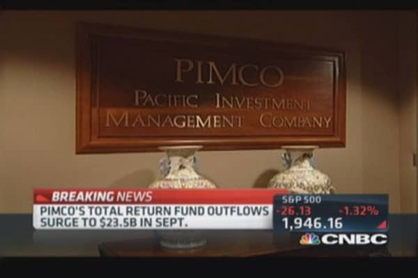 Pimco outflows surge