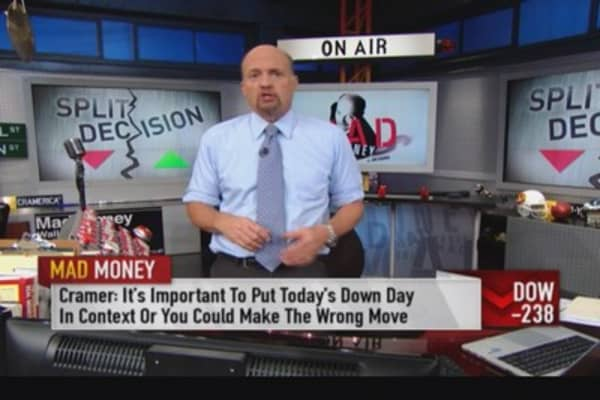 Cramer: How a correction works