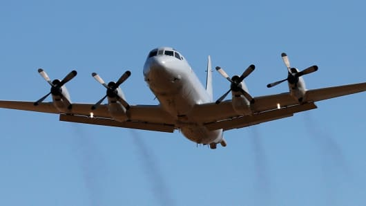 P-3 Orion aircraft
