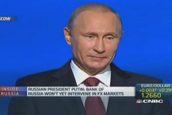Russia to become more transparent: Putin